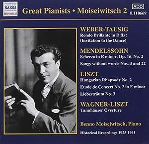 Beethoven/Liszt/Mendelssohn - Piano Works