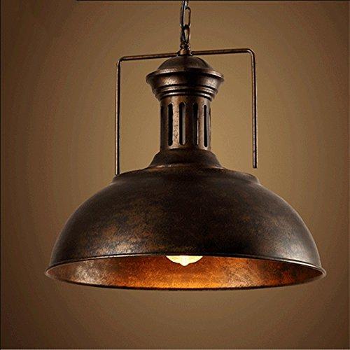Hines Industrial Kinder nautische Scheune Pendelleuchte Lampe mit rustikal Kuppel/Schale Leuchte Leuchten Licht Kronleuchter aus Kupfer (Tiffany Wand-abziehbilder)