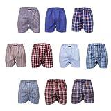 10 Stück MG-1 Webboxer Boxershorts Shorts Boxer Herren desortierter Farbmix , Grösse:XXL - 8 - 56, Farbe:mehrfarbig, Menge:10 er Pack