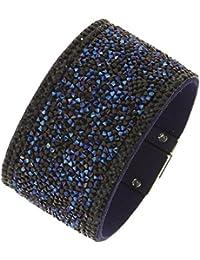 Fashiongen - Bracelet manchette strass PRUDENTIUS