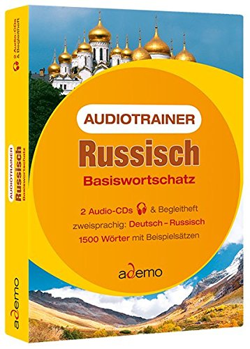 Audiotrainer Russisch Basiswortschatz, 2 Audio-CDs