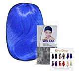 EmaxDesign-Peluca-de-mujer-de-70-cm-de-longitud-Melena-larga-y-con-volumen-de-estilo-ondulado-y-resistente-al-calor-incluye-rejilla-para-el-pelo-y-peine-para-pelucaColor-Azul-oscuro