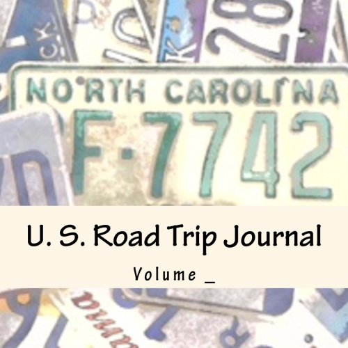 U. S. Road Trip Journal: North Carolina Cover (S M Road Trip Journals)