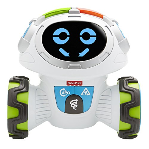 Fisher-Price - Movi Superrobot, Juguete Educativo Niño +3 Años (Mattel FPD04)