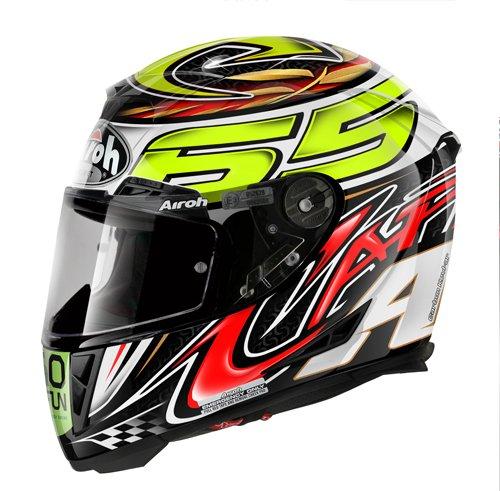 Airoh Casco para motociclista, color Negro (Capirossi), talla 62-XL