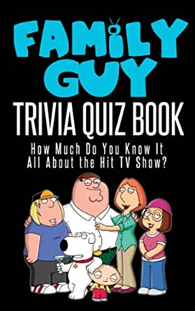 The family guy trivia quiz book how much do you know it for Pop quiz tv show