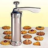 Cartshopper Cookie Biscuits Mold Press Machine Cake Decorating Biscuit Maker Set Baking Pastry