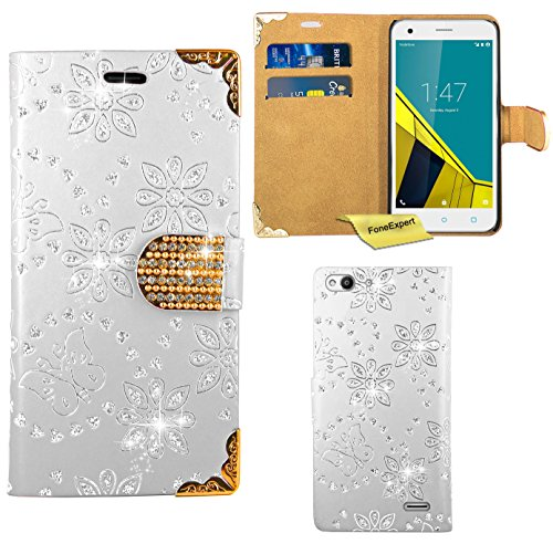vodafone-smart-ultra-6-case-foneexpertr-bling-luxury-diamond-leather-wallet-book-kickstand-bag-case-