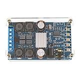 Droking Module Amplificateur Numérique Bluetooth Double Canal 50W * 2 Amplificateur Audio Board DC 4.5-27V Audio Stereo Power AMP Module avec Coque Acrylique Protectrice