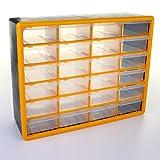 51tnvLSZb2L. SL160  - BEST BUY# Marko Tools Drawer Cabinet Storage Chest Garage Organiser Tool Fixing Screw Nut Bolt Nails (24 Drawer) Reviews