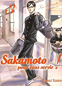 Sakamoto, pour vous servir ! Edition simple Tome 3