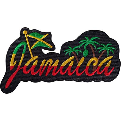 Jamaica parche hierro Sew T bolsa camiseta chaqueta