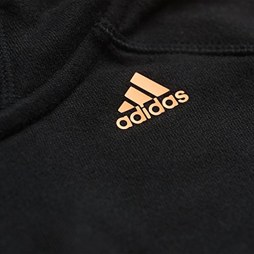 adidas Essentials Sweat-shirt à capuche Femme Noir - Black/Flash Orange S15