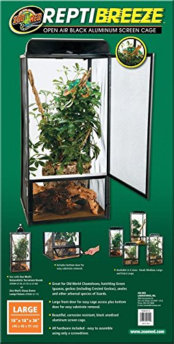 Zoo Med Repti Breeze Screen Cage, 46 x 46 x 92 cm Test