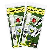 MONEY TESTER - Coffret promotionnel de 2 stylos détecteurs (30% de remise)