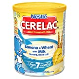 Nestle Cerelac Banana & wheat with milk 400gm