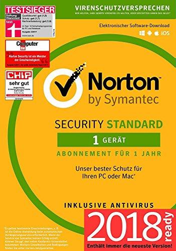 Norton Security Standard 2018 | 1 Gerät | 1 Jahr