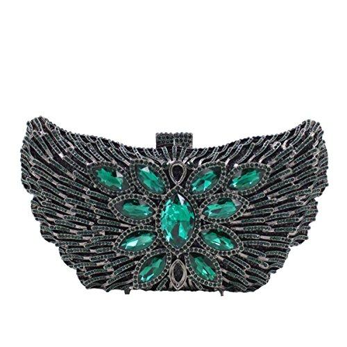 Kristall-Diamant-Abendtasche Luxus-Handtasche Frauen A