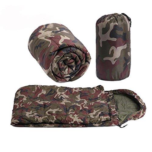 Camouflage Schlafsäcke geeignet für Herbst und Winter Militär Schlafsäcke für Erwachsene 2.0m * 0.6m