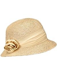 Seeberger Damenstrohhut - Chapeau de soleil Femme