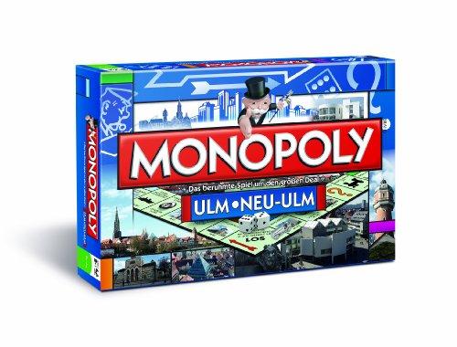 Winning Moves 41290 – Monopoly Ulm, Brettspiel