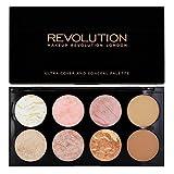 Makeup Revolution Palette Ultra Blush Palette Golden Sugar