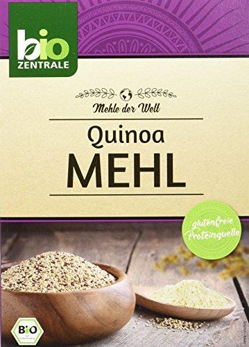 biozentrale Quinoamehl - glutenfreie Proteinquelle, 2er Pack (2 x 250 g)