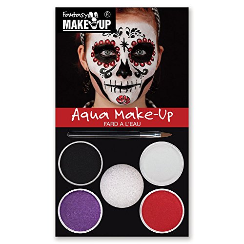 Dead Halloween Ideen - KREUL Fantasy Aqua Make Up Picture