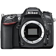 Nikon D7100 body Fotocamera Reflex Digitale, 24.1 Megapixel, LCD da 3 Pollici, ISO 6400, SD 8GB Premium Lexar 180X, Colore Nero [Nital card: 4 anni di garanzia]