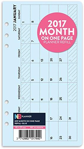 2017-mois-sur-une-page-planner-recharge-insert-english-filofax-personal-compatible-bleu