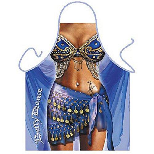 Ideen Kostüme Bauchtänzerin (Sexy Schürze - Bauchtänzerin - Für Karneval und Mottopartys - als Geschenk zum Fasching im Set mit)