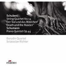 "Schubert: Streichquartett op.14 D.810 ""Der Tod und das Mädchen"" / Schumann: Klavierquintett op.44"