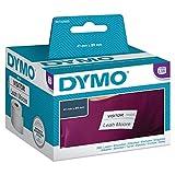 DYMO LW-Etiketten für kleine Namensschilder selbstklebend (41mm x 89mm, Rolle mit 300leicht ablösbaren Etiketten, für LabelWriter-Beschriftungsgeräte, authentisches Produkt)
