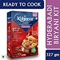 Kohinoor Authentic Basmati Biryani Kit, Hyderabadi, 327g