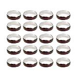 Sharplace 20pcs Wholesale Lots Mixed Color Change Mood Rings Women Men Fashion Jewelry
