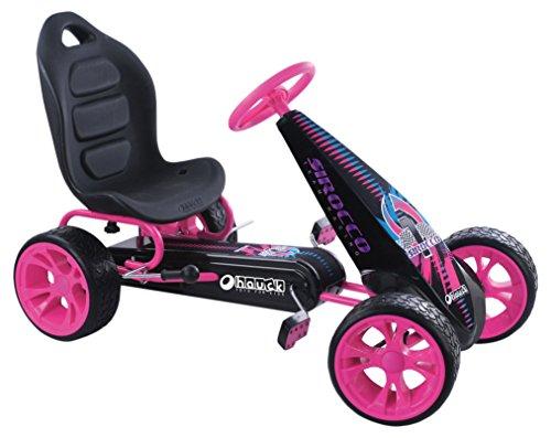 Hauck T90704 Sirocco Go-Kart, Rosa