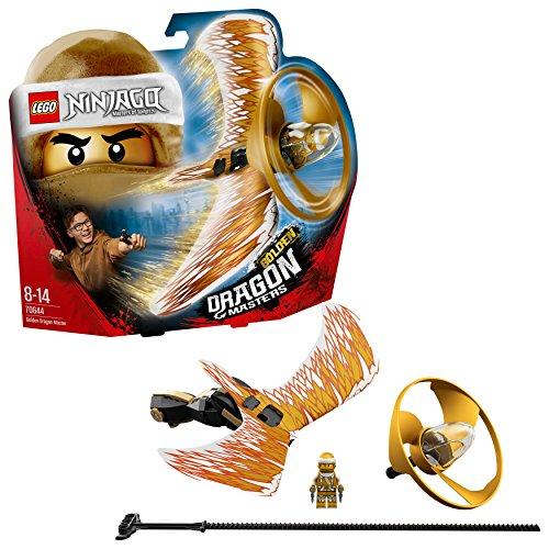 Lego Ninjago- Maestro Dragone d'oro, Multicolore, Taglia Unica, 5702016110784