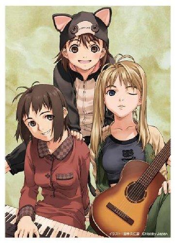Kunihiko Tanaka Card Sleeve - Gyaza Girl Winter (Kotori/Chisato/Shelley)