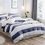 Die besten Gemütliche Beddings Quilts - Lausonhouse Garn gefärbt 100% Baumwolle Bettwäsche-Set - 155x220 Bewertungen