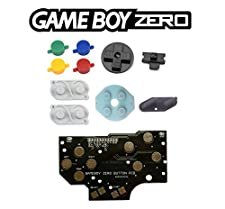[GAMEBOY ZERO] Set version 4 boutons + conducteurs (couleurs SNES) + PCB