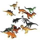 lsv-8Kunststoff Modell Dinosaurier Figuren Kinder Spielzeug-Set von 12
