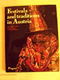 Front cover for the book Festivals and traditions in Austria by Werner Schneider