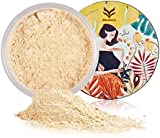 Loose Face Powder, Bulary Oil Control Setting Powder Long Lasting Silky Matte Foundation Powder-Translucent #3 Natural color