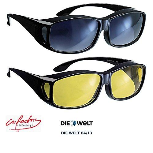 infactory-scharfer-sehen-set-mit-2-uberziehbrillen-day-vision-night-vision