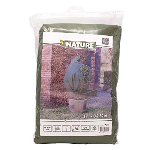 Nature housse de protection d'hivernage pour plantes toison 2,5x3 m vert 6030137