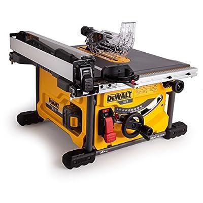 DEWALT DCS7485T2 210 mm 54 V XR Flex Volt Cordless Table Saw - Yellow/Black