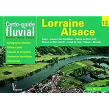 Carto guide fluvial : Lorraine Alsace