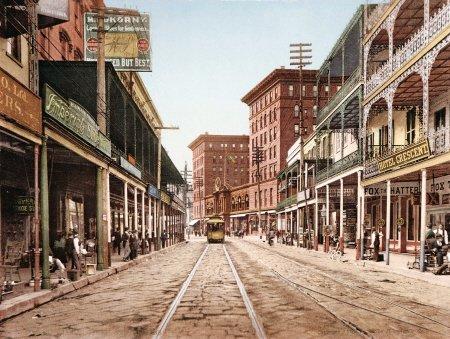 st-charles-street-new-orleans-1900-vintage-us-street-scene-mouse-mat