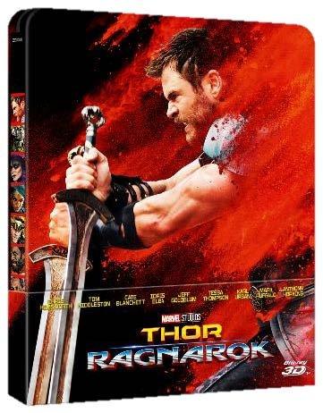 Thor Ragnarok (Steelbook) (Blu-Ray 3D + Blu-Ray 2D)