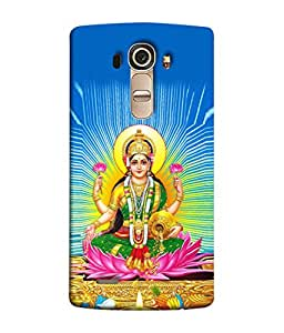 PrintVisa Designer Back Case Cover for LG G4 :: LG G4 Dual LTE :: LG G4 H818P H818N :: LG G4 H815 H815TR H815T H815P H812 H810 H811 LS991 VS986 US991 (Maa Laxmi Dhan aishwariya ki devi)